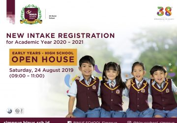 First Open House at BINUS SCHOOL Simprug