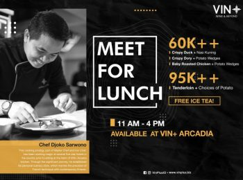 Meet for Lunch at Vin+ Arcadia