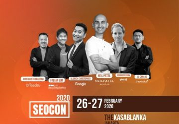 Search Engine Optimization Conference – SEOCon 2020 Jakarta