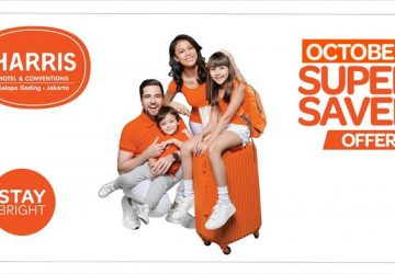 October SuperSaver Special for Pleasure Seekers at HARRIS Hotel & Conventions Kelapa Gading
