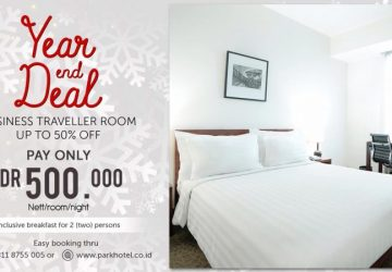 Year and Deals at PARK HOTEL Cawang -Jakarta