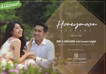 Honeymoon Package at Hotel Borobudur Jakarta