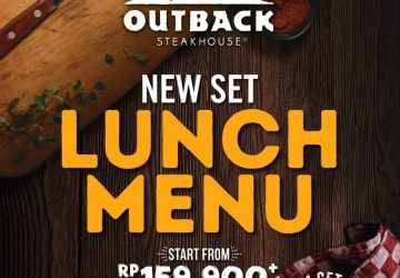 New Lunch Menu at Outback steakhouse