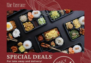 The Terrace Special Deal for Take away and Delivery