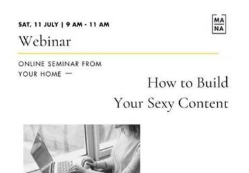 How to Build Your Sexy Content – Online Class