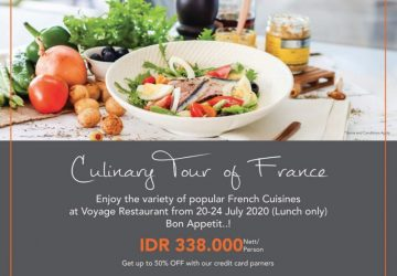 Culinary Tour of France at Voyage Restaurant