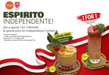 Independence Day Promotion Tucano's