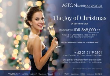 Festive Season at ASTON Kartika Grogol Hotel & Conference Center