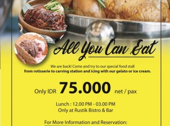 All You Can Eat at Rustik Bistro & Bar