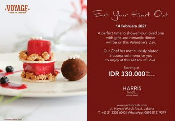 Eat Your Heart Out at HARRIS Vertu Harmoni – Jakarta