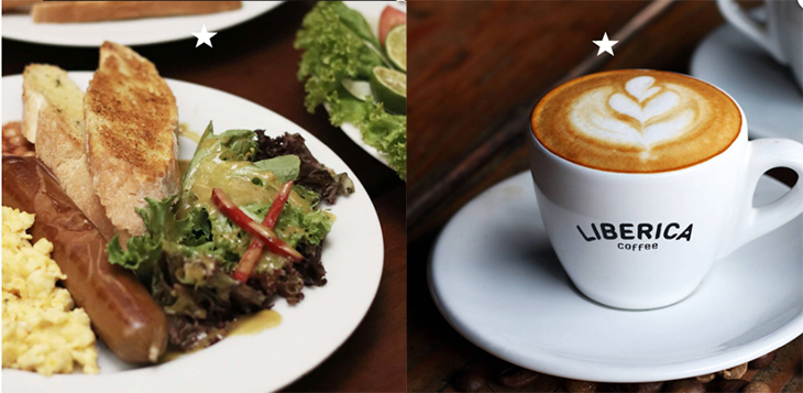 liberica coffee brunch