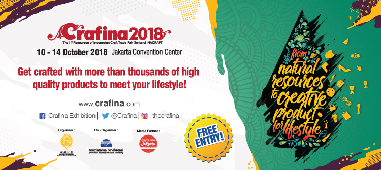 Resources of Indonesian Craft (CRAFINA 2018)
