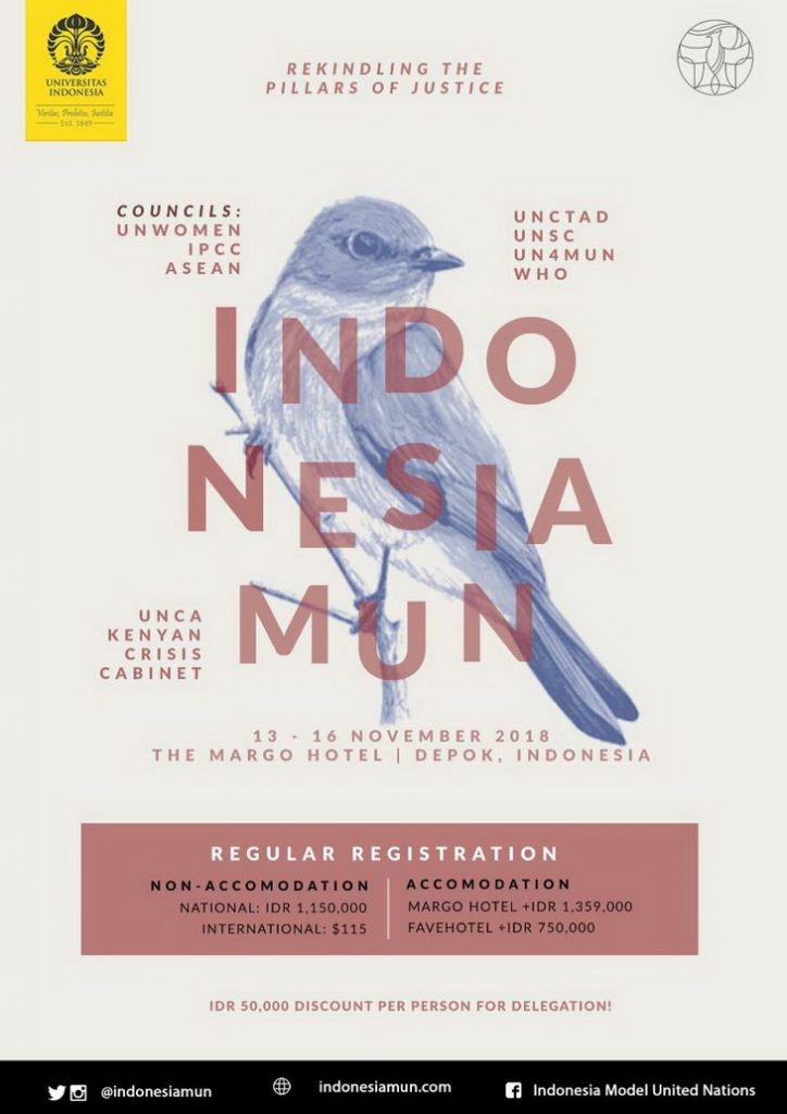 Indonesia Model United Nations 2018