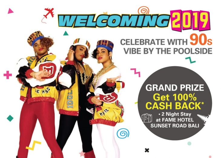 Welcoming 2019 Celebrate With 90 S Vibe By The Pool At Ara Hotel Gading Serpong Whats New