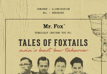 Tales of Foxtails - Asia's Best Bar takeover