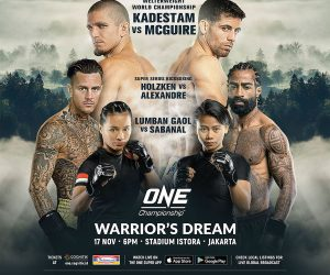 5 Reasons to Watch ONE Championship: Warrior's Dream this November