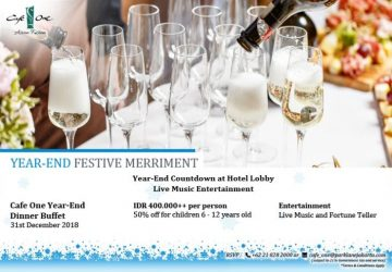 New Year Promotion at The Park Lane
