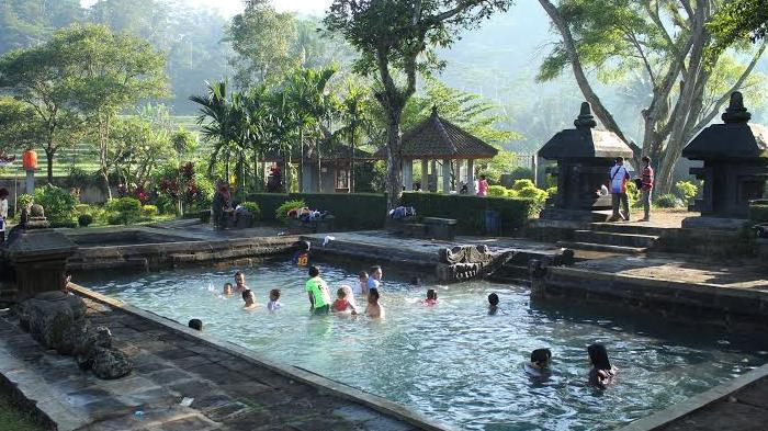 Hot Spring in Indonesia