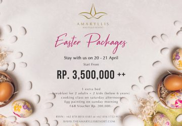 Easter Packages at Amaryllis