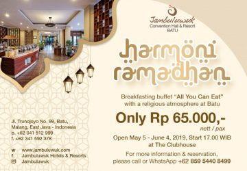 Ramadan Promotion at Jambuluwuk Convention Hall & Resort Batu