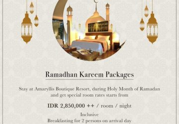 Ramadan Kareem Pacakge at The AMARYLLIS Boutique Resort