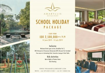 School Holiday Packages at The Amaryllis Resort