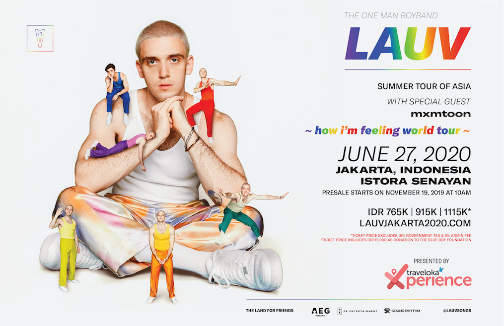 Summer Concerts 2020.Lauv Confirms Jakarta As One Of The Stops For 2020 World