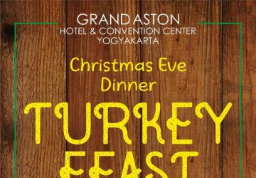 Christmas Eve Dinner at Grand Aston Yogyakarta Hotel & Convention Center