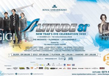 New Year's Eve Celebration 2020 at Royal Ambarrukmo Yogyakarta