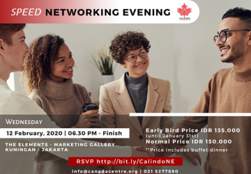 Calindo Speed Networking Evening 2020