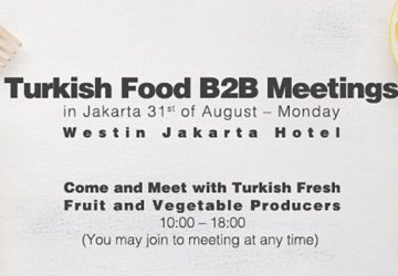 Meet with Turkish Food Industry in Jakarta