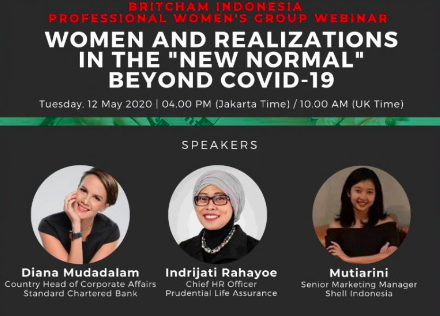 Pwg S Webinar Women And Realizatons In The New Normal Beyond