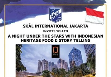 SKAL JAKARTA – A night under the stars  with Indonesian Heritage Food & Story Telling