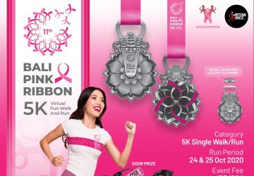 Bali Pink Ribbon 5K Virtual Fun Walk and Run