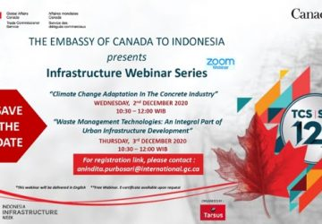 Infrastructure Webinar Series by the Embassy of Canada to Indonesia